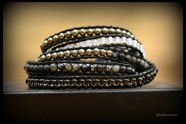 Bracelet style tibétain